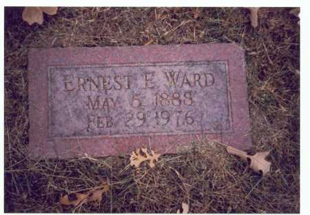 WARD, ERNEST E. - Pottawattamie County, Iowa | ERNEST E. WARD