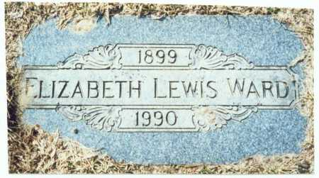 WARD, ELIZABETH LEWIS - Pottawattamie County, Iowa   ELIZABETH LEWIS WARD