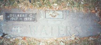 WATERS, DELBERT C - Pottawattamie County, Iowa | DELBERT C WATERS