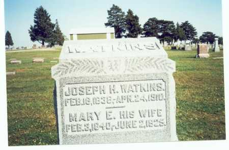 WATKINS, MARY ELLEN - Pottawattamie County, Iowa | MARY ELLEN WATKINS