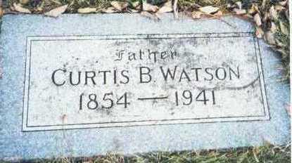 WATSON, CUTRIS B. - Pottawattamie County, Iowa   CUTRIS B. WATSON