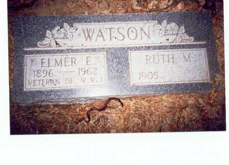 WATSON, ELMER E. - Pottawattamie County, Iowa | ELMER E. WATSON