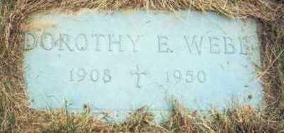WEBB, DOROTHY E. - Pottawattamie County, Iowa   DOROTHY E. WEBB