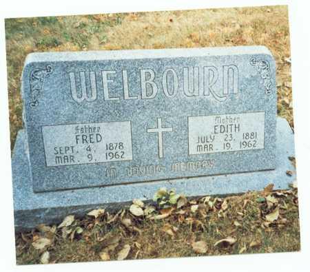 WELBOURN, EDITH - Pottawattamie County, Iowa | EDITH WELBOURN