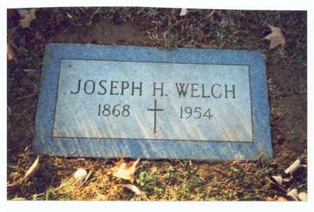 WELCH, JOSEPH H. - Pottawattamie County, Iowa | JOSEPH H. WELCH