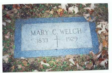 WELCH, MARY C. - Pottawattamie County, Iowa | MARY C. WELCH