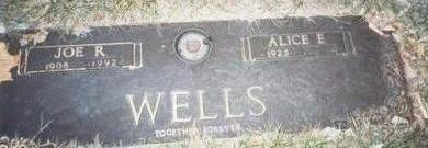 WELLS, JOE R. - Pottawattamie County, Iowa | JOE R. WELLS