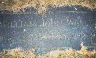 WELLS, WILLIAM JOHN - Pottawattamie County, Iowa | WILLIAM JOHN WELLS