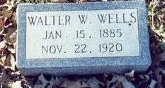 WELLS, WALTER W - Pottawattamie County, Iowa | WALTER W WELLS