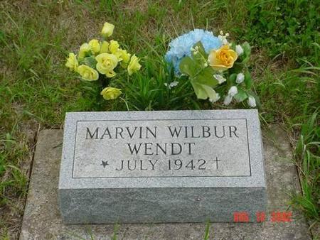 WENDT, MARVIN WILBUR - Pottawattamie County, Iowa | MARVIN WILBUR WENDT