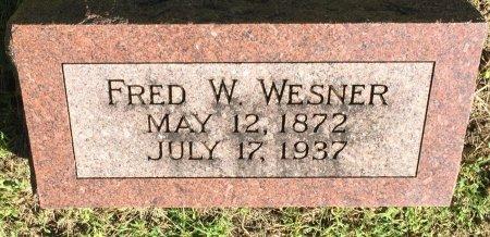 WESNER, FRED WELLINGTON - Pottawattamie County, Iowa | FRED WELLINGTON WESNER