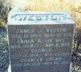 WESTON, CHARLES OSCAR - Pottawattamie County, Iowa | CHARLES OSCAR WESTON