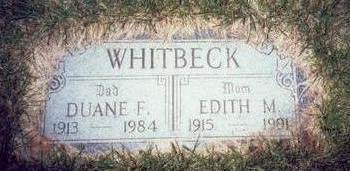 WHITBECK, EDITH M. - Pottawattamie County, Iowa | EDITH M. WHITBECK