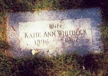WHITBECK, KATIE ANN - Pottawattamie County, Iowa   KATIE ANN WHITBECK