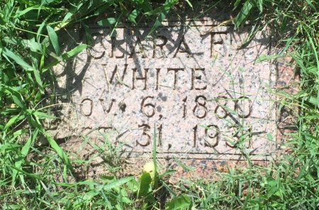 HECKERMAN WHITE, CLARA FLORENCE - Pottawattamie County, Iowa | CLARA FLORENCE HECKERMAN WHITE