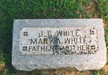 GENSON WHITE, MARY - Pottawattamie County, Iowa | MARY GENSON WHITE