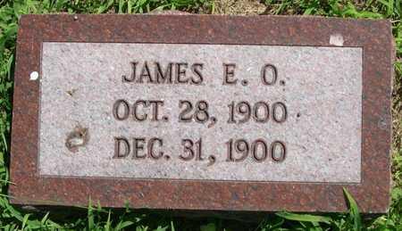WHITE, JAMES E.O. - Pottawattamie County, Iowa   JAMES E.O. WHITE