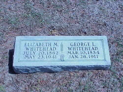 WHITEHEAD, ELIZABETH M. & GEORGE L. - Pottawattamie County, Iowa | ELIZABETH M. & GEORGE L. WHITEHEAD