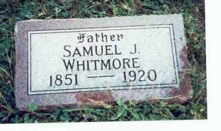 WHITMORE, SAMUEL J. - Pottawattamie County, Iowa   SAMUEL J. WHITMORE
