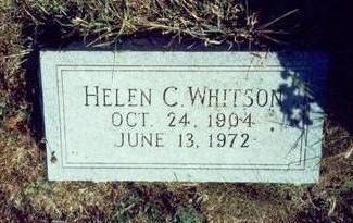 CHAMBERS WHITSON, HELEN - Pottawattamie County, Iowa | HELEN CHAMBERS WHITSON