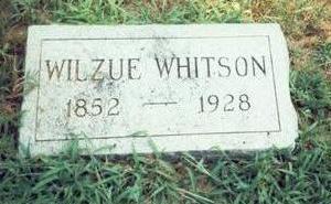 WHITSON, WILZUE - Pottawattamie County, Iowa | WILZUE WHITSON