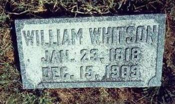 WHITSON, WILLIAM - Pottawattamie County, Iowa | WILLIAM WHITSON