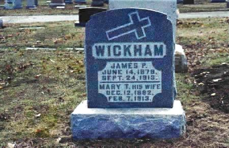 THOME WICKHAM, MARY - Pottawattamie County, Iowa | MARY THOME WICKHAM