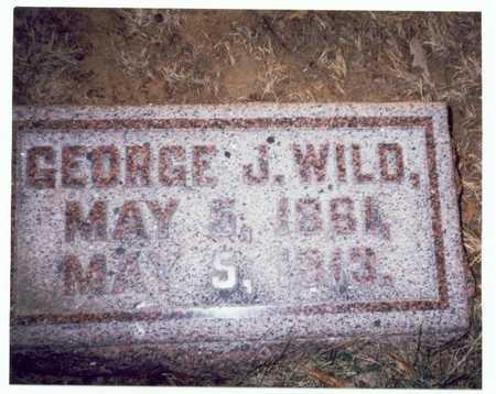 WILD, GEORGE JAMES - Pottawattamie County, Iowa   GEORGE JAMES WILD