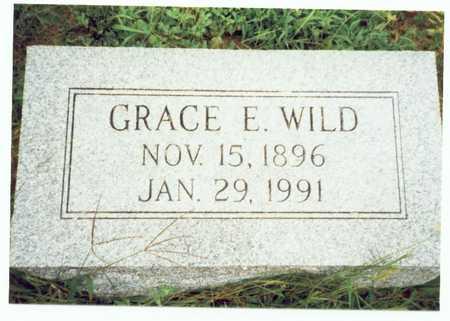 WILD, GRACE E. - Pottawattamie County, Iowa | GRACE E. WILD