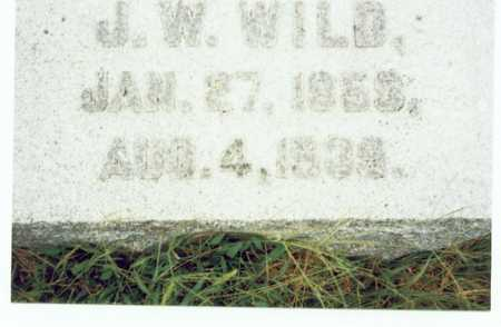 WILD, JAMES WILLIAM - Pottawattamie County, Iowa | JAMES WILLIAM WILD