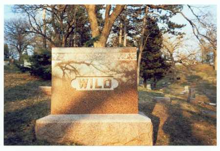 WILD, MARKER - Pottawattamie County, Iowa | MARKER WILD
