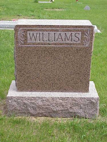 WILLIAMS, FRANKLIN B. HEADSTONE - Pottawattamie County, Iowa | FRANKLIN B. HEADSTONE WILLIAMS