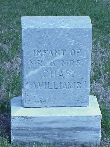 WILLIAMS, INFANT - Pottawattamie County, Iowa | INFANT WILLIAMS