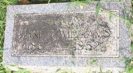 WILLIAMS, JANE T - Pottawattamie County, Iowa | JANE T WILLIAMS