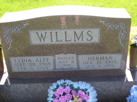 WILLMS, HERMAN - Pottawattamie County, Iowa   HERMAN WILLMS