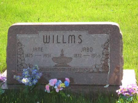 WILLMS, JABO - Pottawattamie County, Iowa | JABO WILLMS