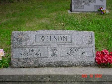 WILSON, CORDELIA & SCOTT - Pottawattamie County, Iowa   CORDELIA & SCOTT WILSON