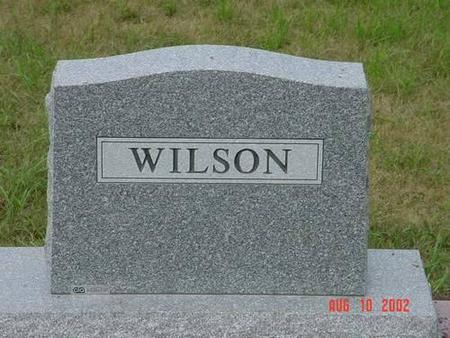 WILSON, ROBERT G. M.D. [BACK] - Pottawattamie County, Iowa | ROBERT G. M.D. [BACK] WILSON