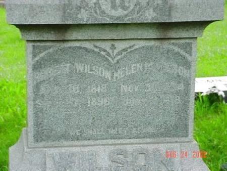 WILSON, ROBERT  & HELEN M. [INSCRIPTION] - Pottawattamie County, Iowa | ROBERT  & HELEN M. [INSCRIPTION] WILSON