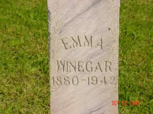WINEGAR, EMMA - Pottawattamie County, Iowa | EMMA WINEGAR