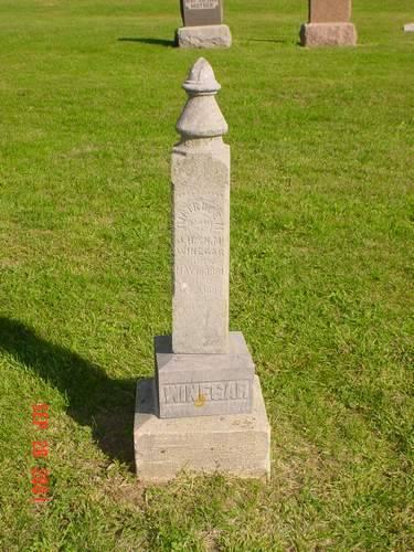 WINEGAR, GERTRUDE M. - Pottawattamie County, Iowa | GERTRUDE M. WINEGAR