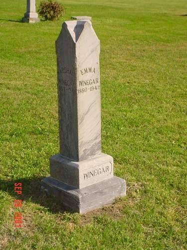 WINEGAR, MARSHALL & EMMA - Pottawattamie County, Iowa | MARSHALL & EMMA WINEGAR