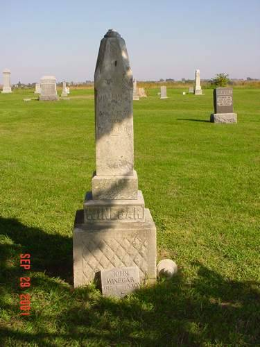 WINEGAR, WILLIAM A. [HEADSTONE] - Pottawattamie County, Iowa | WILLIAM A. [HEADSTONE] WINEGAR