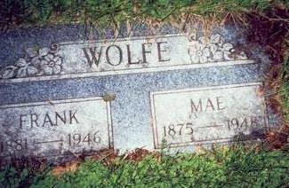 WOLFE, MAE - Pottawattamie County, Iowa | MAE WOLFE