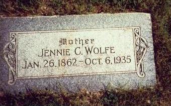 WOLFE, JENNIE C. - Pottawattamie County, Iowa | JENNIE C. WOLFE