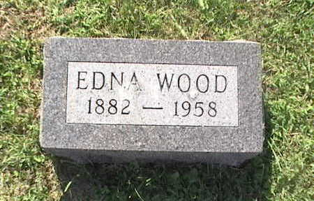 WOOD, EDNA - Pottawattamie County, Iowa | EDNA WOOD
