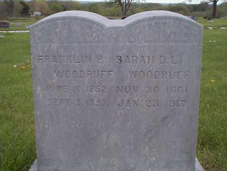 WOODRUFF, FRANKLIN P. - Pottawattamie County, Iowa | FRANKLIN P. WOODRUFF