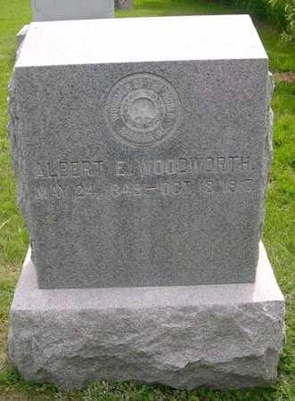 WOODWORTH, ALBERT E. - Pottawattamie County, Iowa | ALBERT E. WOODWORTH