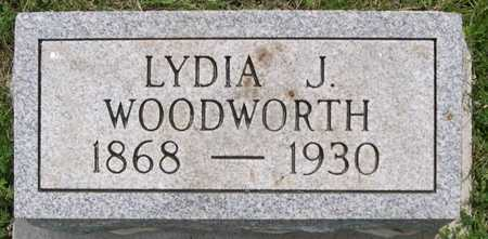 WOODWORTH, LYDIA J. - Pottawattamie County, Iowa | LYDIA J. WOODWORTH