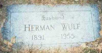 WULF, HERMAN - Pottawattamie County, Iowa | HERMAN WULF